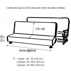 Funda sofá CLIC-CLAC GLAMOUR