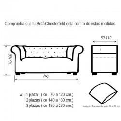 Funda de sofá Chester GLAMOUR